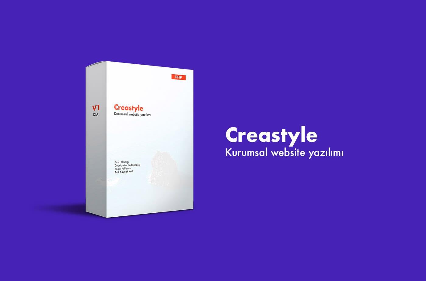 Creastyle Kurumsal Firma Yazılımı