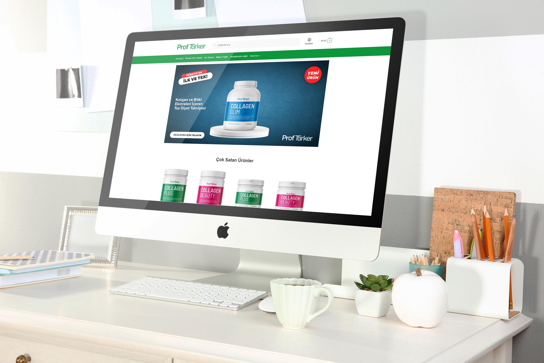 ProfTürker E-ticaret Sitesi
